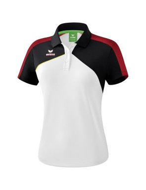 Premium One 2.0 Polo-shirt - Women - white/black/red/yellow