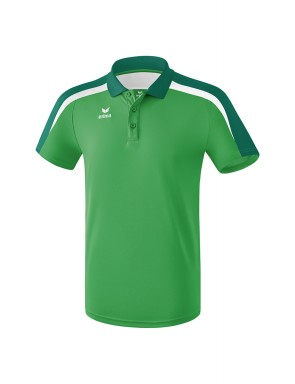 Liga 2.0 Polo-shirt - Kids - smaragd/evergreen/white