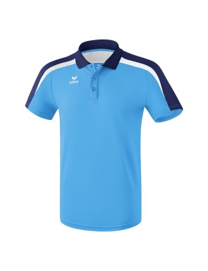 Liga 2.0 Polo-shirt - Men - curacao/new navy/white