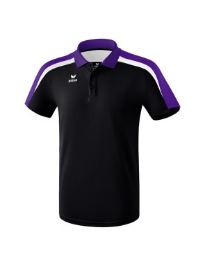 Liga 2.0 Polo-shirt - Men - black/dark violet/white