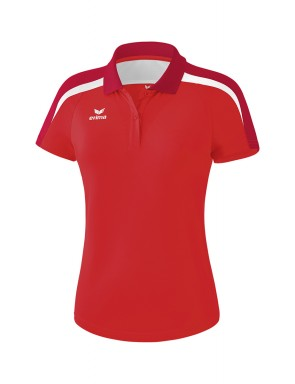 Liga 2.0 Polo-shirt - Women - red/tango red/white