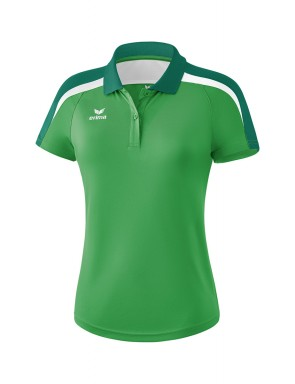 Liga 2.0 Polo-shirt - Women - smaragd/evergreen/white