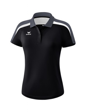 Liga 2.0 Polo-shirt - Women - black/white/dark grey