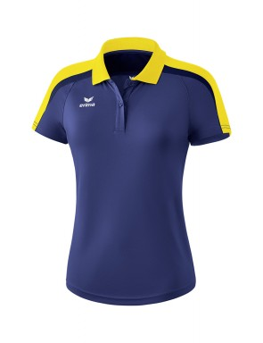 Liga 2.0 Polo-shirt - Women - new navy/yellow/dark navy