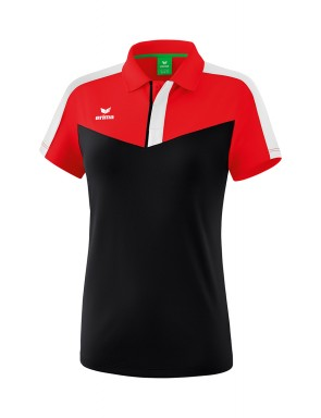 Squad Polo-shirt - Women - red/black/white