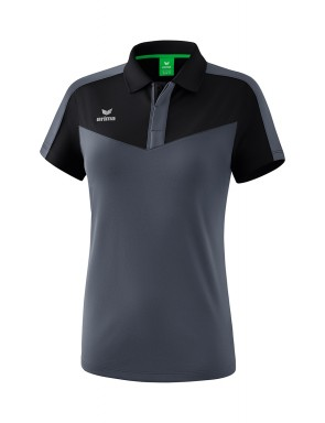Squad Polo-shirt - Women - black/slate grey