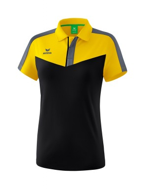 Squad Polo-shirt - Women - yellow/black/slate grey