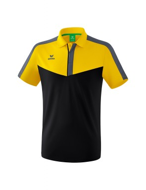 Squad Polo-shirt - Men - yellow/black/slate grey