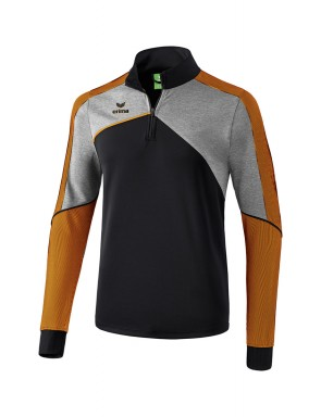 Premium One 2.0 Training Top - Men - black/grey marl/neon orange