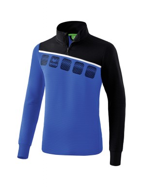 5-C Training Top - Kids - new royal/black/white