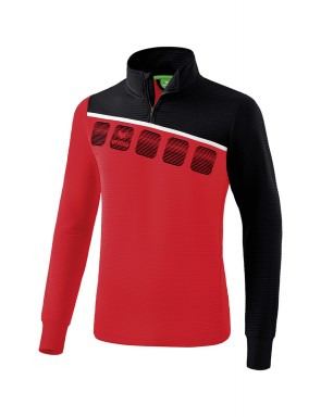 5-C Training Top - Men - red/black/white