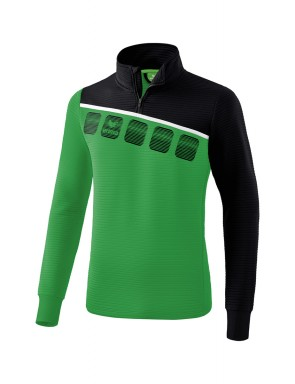 5-C Training Top - Men - emerald/black/white
