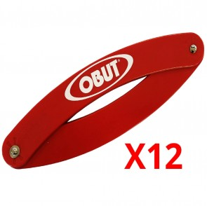 12 OBUT Folding Circles - Red