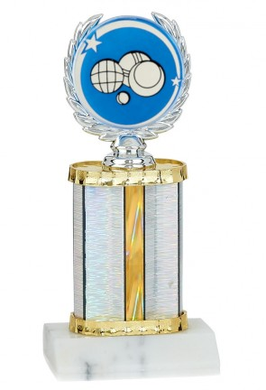 Petanque trophy the laurels of victory 27 cm