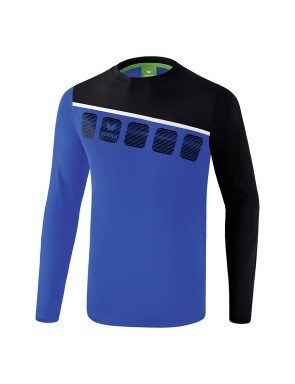5-C Longsleeve - Men - new royal/black/white