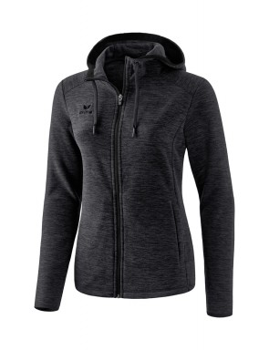 Fleece Jacket - Women - black marl