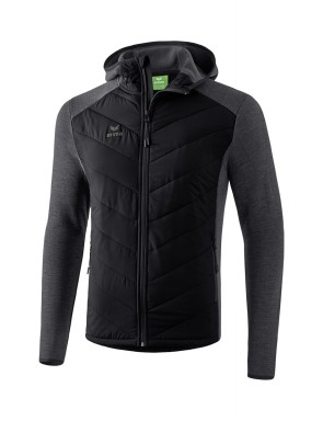 Quilted Jacket - Men - black