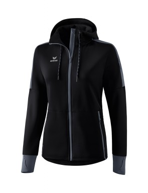 Softshell jacket - Women - black/slate grey