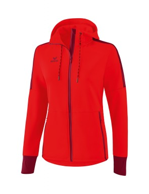Softshell jacket - Women - red/bordeaux
