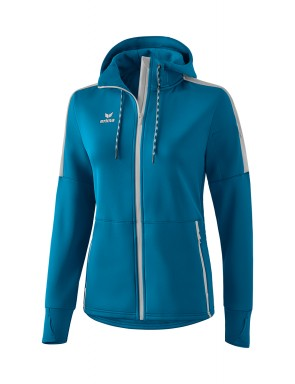 Softshell jacket - Women - petrol/silver grey