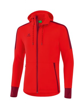 Softshell jacket - Men - red/bordeaux