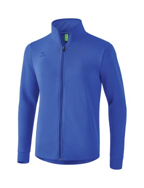 Sweat jacket - Men - new royal