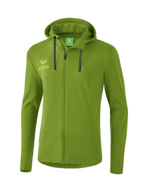 Essential Hooded Sweat Jacket - Men - twist of lime/lime pop