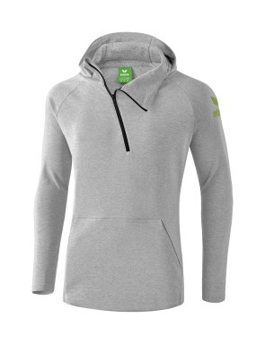 Essential Hoody - Kids - light grey marl/twist of lime