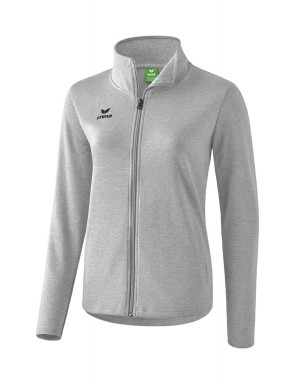 Sweat jacket - Women - light grey