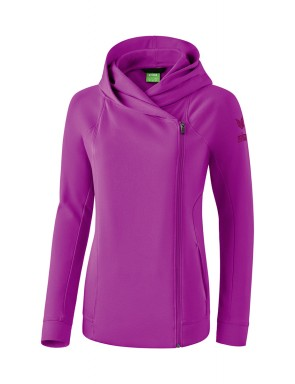 Essential Hooded Sweat Jacket - Kids - fuchsia/purple potion