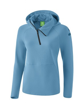 Essential Hoody - Women - niagara/ink blue