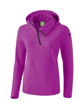 Essential Hoody - Kids - fuchsia/purple potion