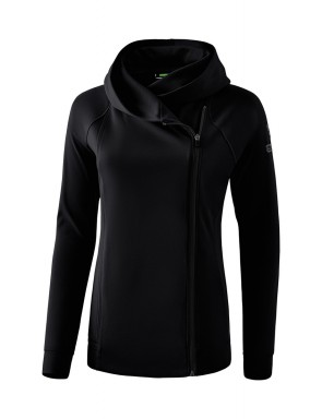 Essential Hooded Sweat Jacket - Women - black/grey
