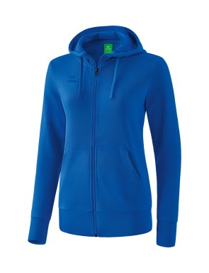 Hooded Sweat Jacket - Women - new royal