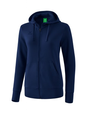 Hooded Sweat Jacket - Women - new navy