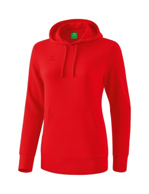 Hoody - Women - red