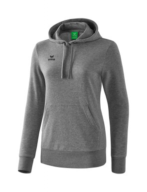 Hoody - Women - grey marl