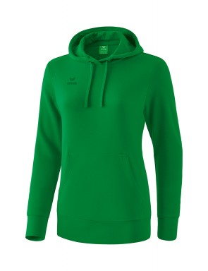 Hoody - Women - emerald