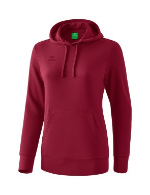 Hoody - Women - bordeaux