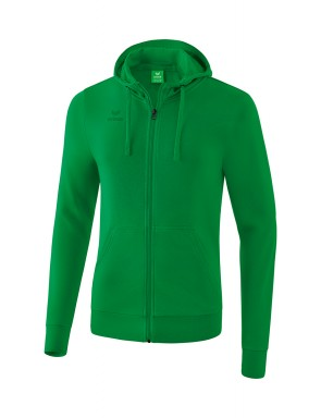 Hooded Sweat Jacket - Kids - emerald