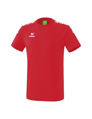Essential 5-C T-shirt - Men - red/white