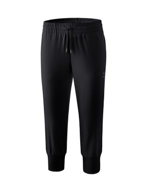 Cropped Pants - Women - black