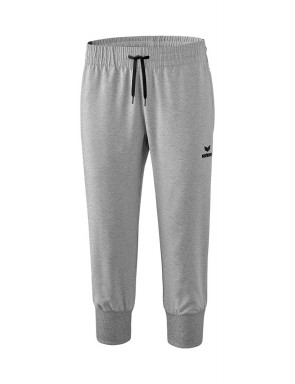 Cropped Pants - Women - grey marl