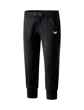 Cropped Sweatpants with narrow waistband - Women - black