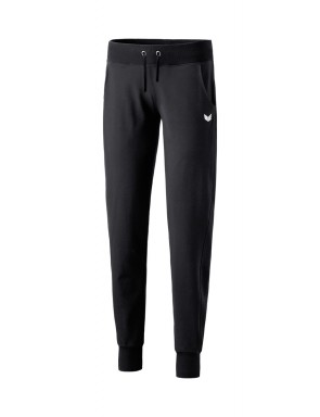 Sweatpants with waistband - Women - black