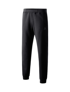 Sweat pants with small waistband - Kids - black