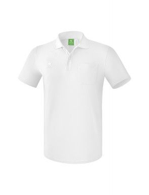 Polo-shirt with chest pocket - Men - white