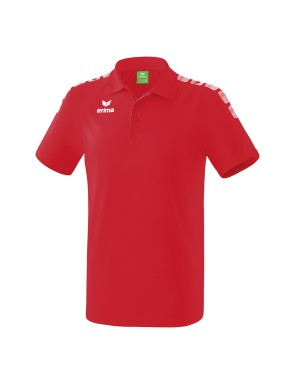 Essential 5-C Polo-shirt - Men - red/white