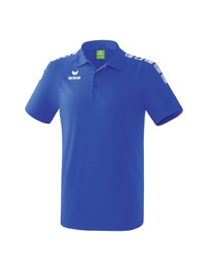 Essential 5-C Polo-shirt - Men - new royal/white