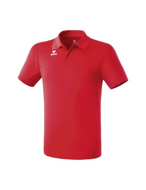 Functional polo-shirt - Men - red